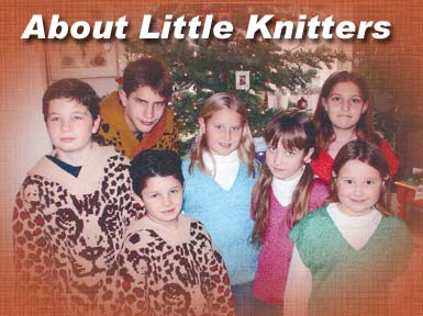 these Little Knitters have grown up and some are still knitting slippers, blankets, and hand painting on knits