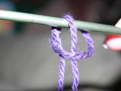 Finish forming the Slip Knot