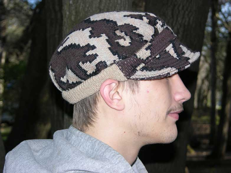 """A Winona Camo� Ridge Runner Hat ~ choose color & Size ~ Elite merino / acrylic"""